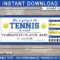 Any Occasion Tennis Gift Tickets regarding Tennis Gift Certificate Template
