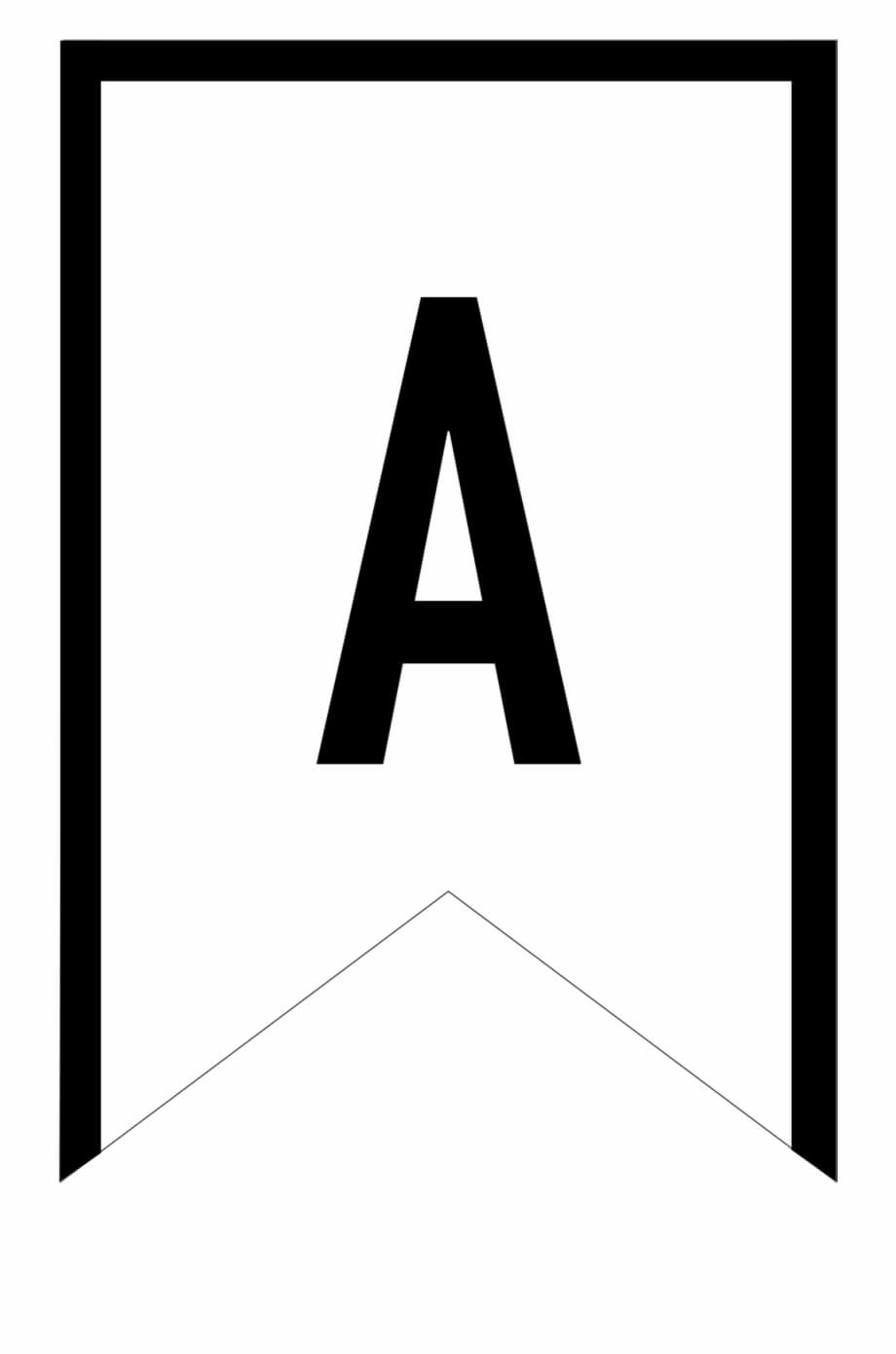 Banner Templates Free Printable Abc Letters – Printable Regarding Triangle Banner Template Free