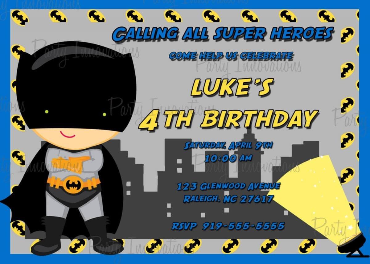 Batman Birthday Card Template ] – Batman Birthday Card With Regard To Batman Birthday Card Template
