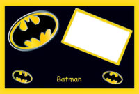 Batman Birthday: Free Printable Cards Or Invitations. - Oh throughout Batman Birthday Card Template