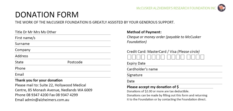 Best Fundraising Request Form Template Ideas ~ Thealmanac Regarding Donation Cards Template