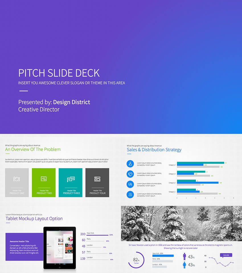 Best Pitch Deck Templates Or Business Plan Powerpoint Throughout Powerpoint Presentation Template Size