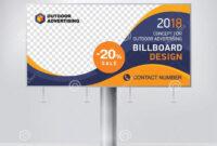 Billboard Design, Template Banner For Outdoor Advertising within Outdoor Banner Design Templates