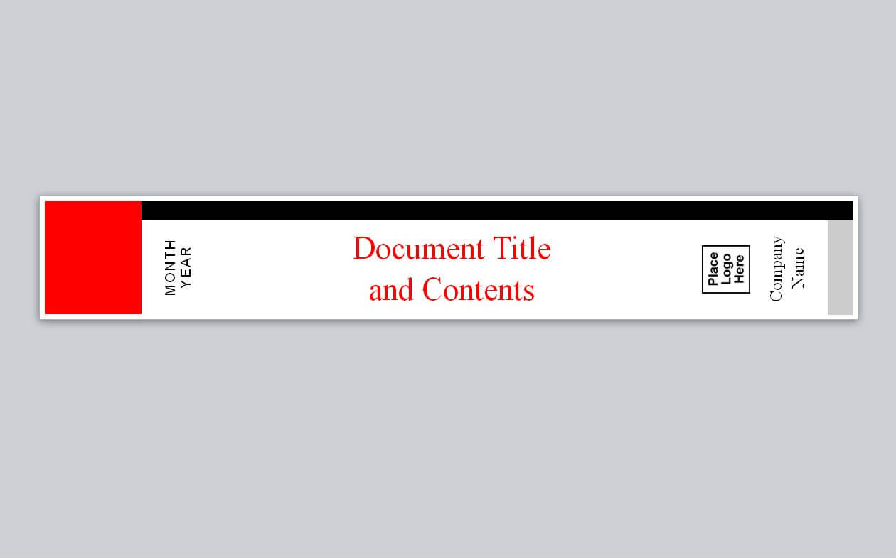 Binder Spine Templates Free - Zohre.horizonconsulting.co Intended For Binder Spine Template Word