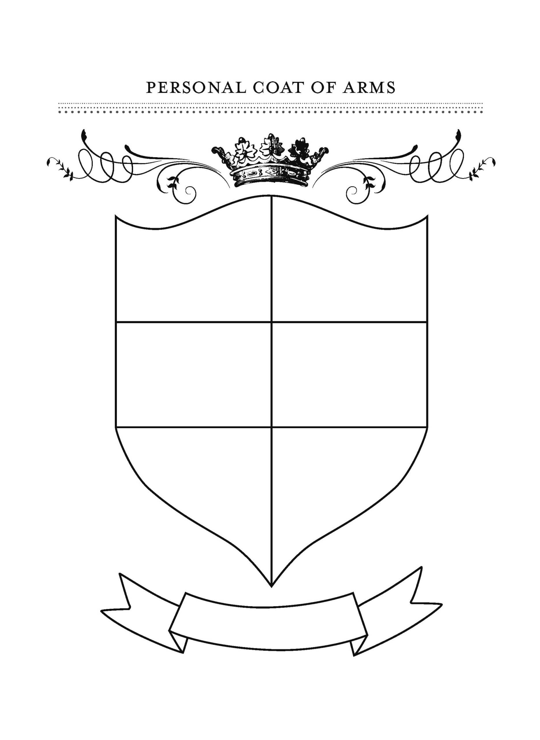 Blank Coat Of Arms Template Png Images Collection For Free With Regard To Blank Shield Template Printable