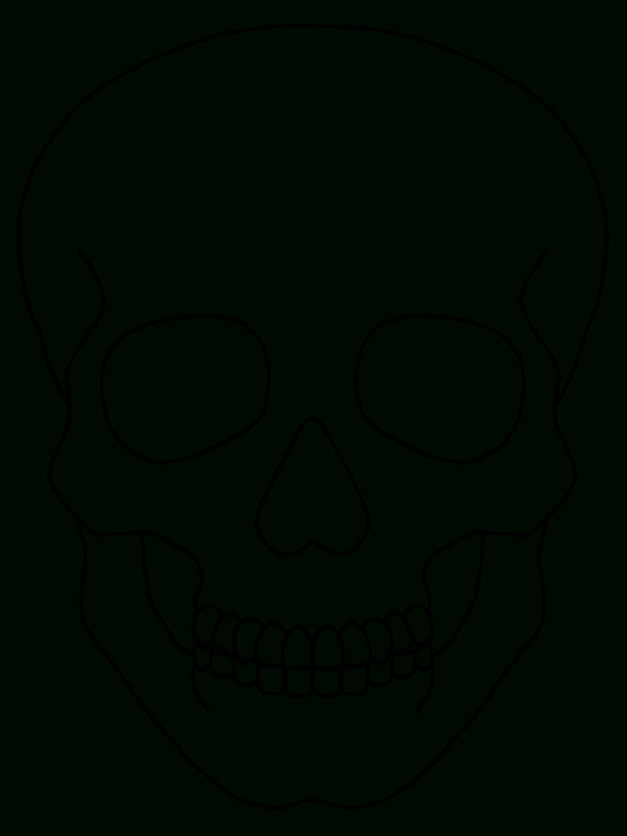 Blank Drawing Skull, Picture #962147 Blank Drawing Skull Pertaining To Blank Sugar Skull Template