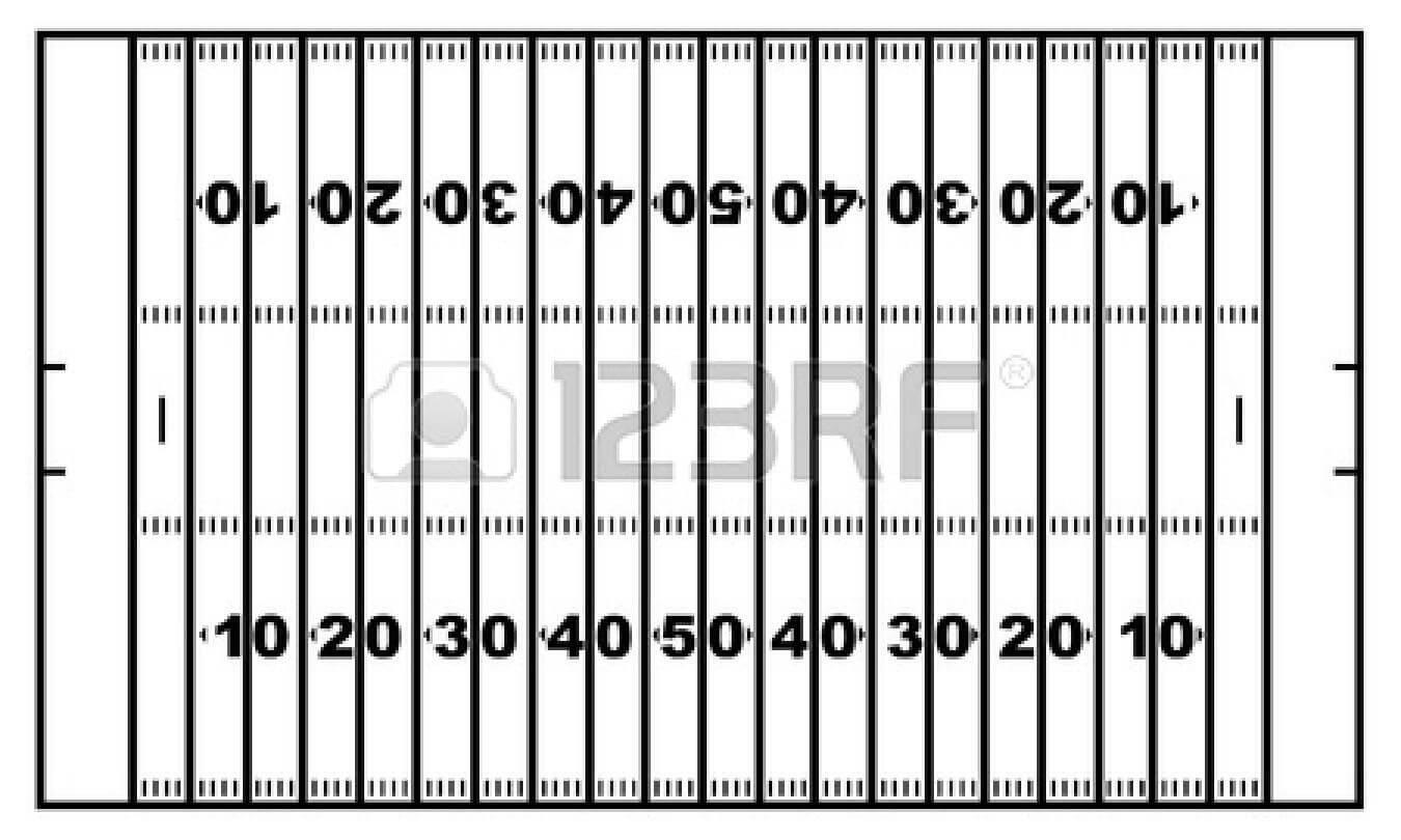 Blank Football Field Template | Free Download Best Blank In Blank Football Field Template