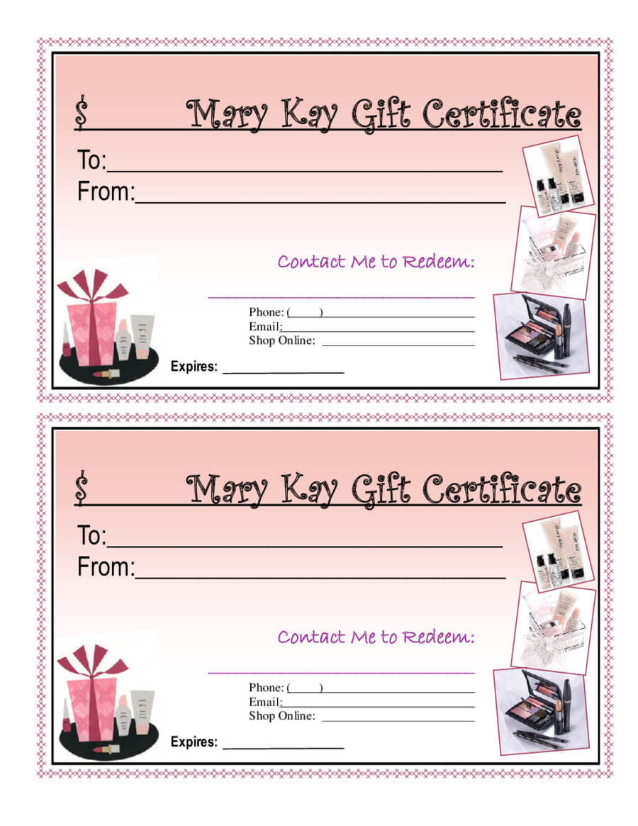 Blank Giftcertificates - Edit, Fill, Sign Online | Handypdf Pertaining To Mary Kay Gift Certificate Template