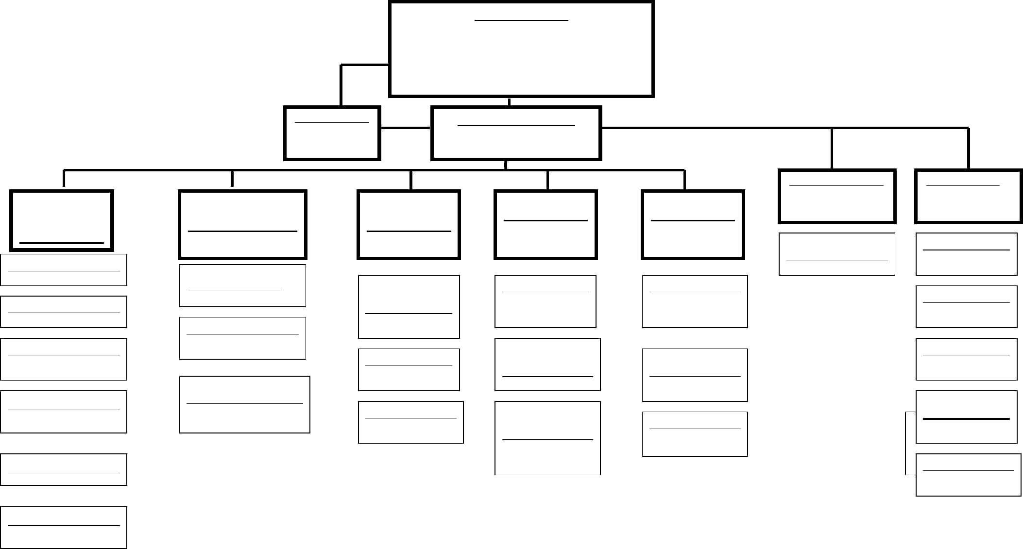 Blank Organizational Chart - Cumberland College Free Download Within Free Blank Organizational Chart Template