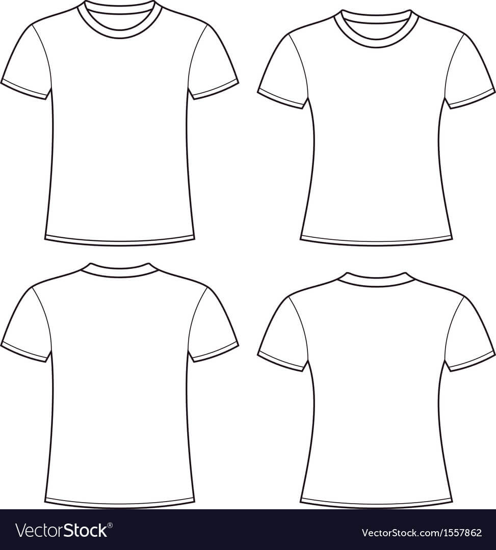 Blank T Shirts Template For Blank Tee Shirt Template