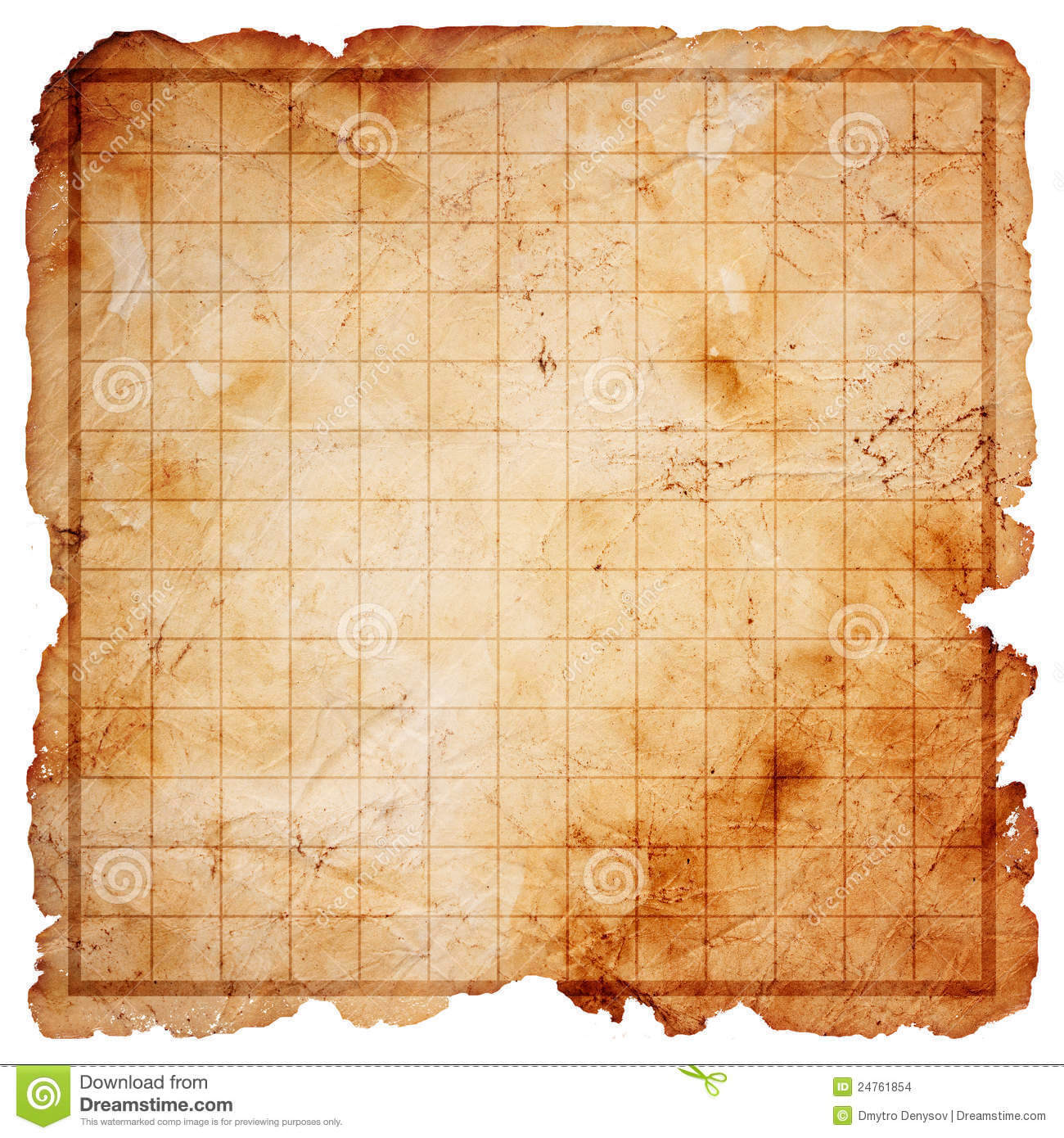 Blank Treasure Map Clipart For Blank Pirate Map Template