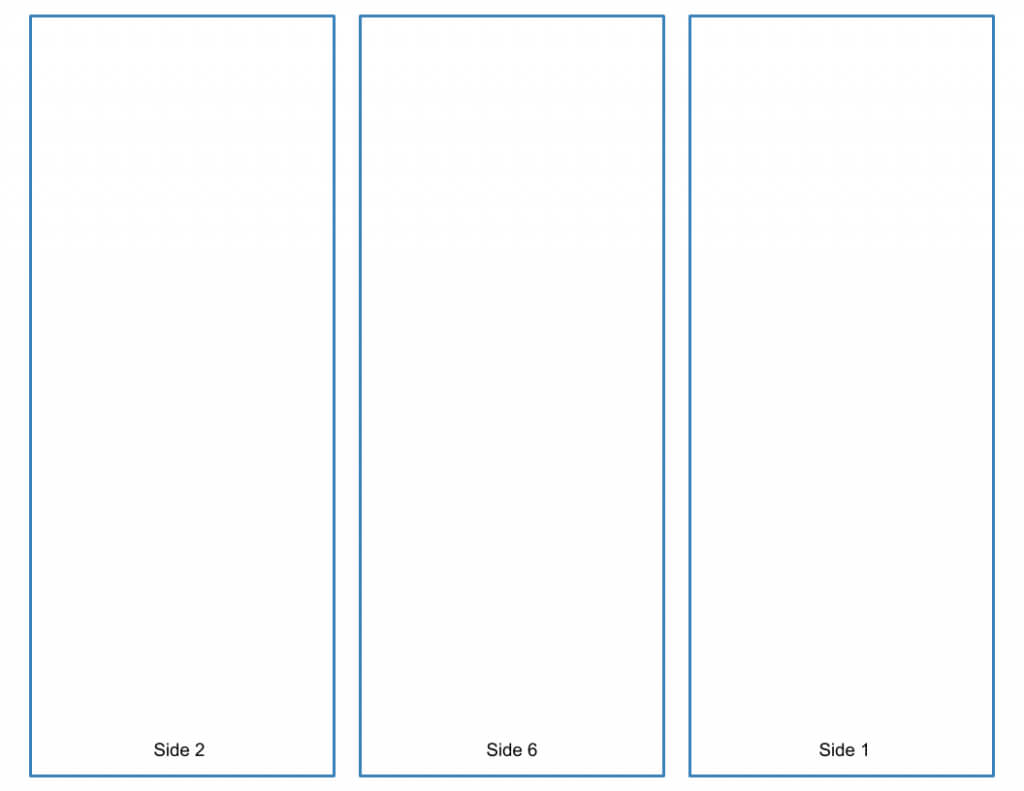 Blank Tri Fold Brochure Template – Google Slides Free Download Throughout Brochure Folding Templates