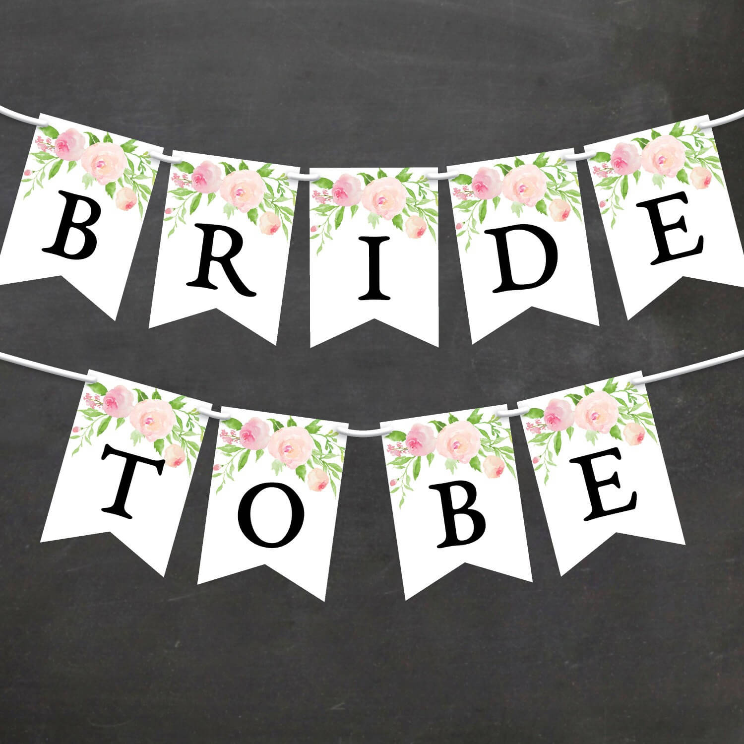 Bridal Shower Banner Template - Yatay.horizonconsulting.co Inside Bride To Be Banner Template
