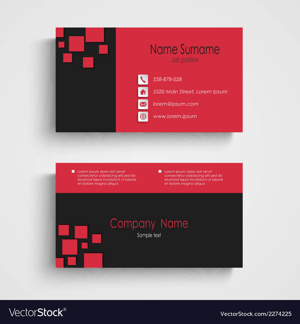 Calling Card Sample – Zohre.horizonconsulting.co Inside Call Card Templates