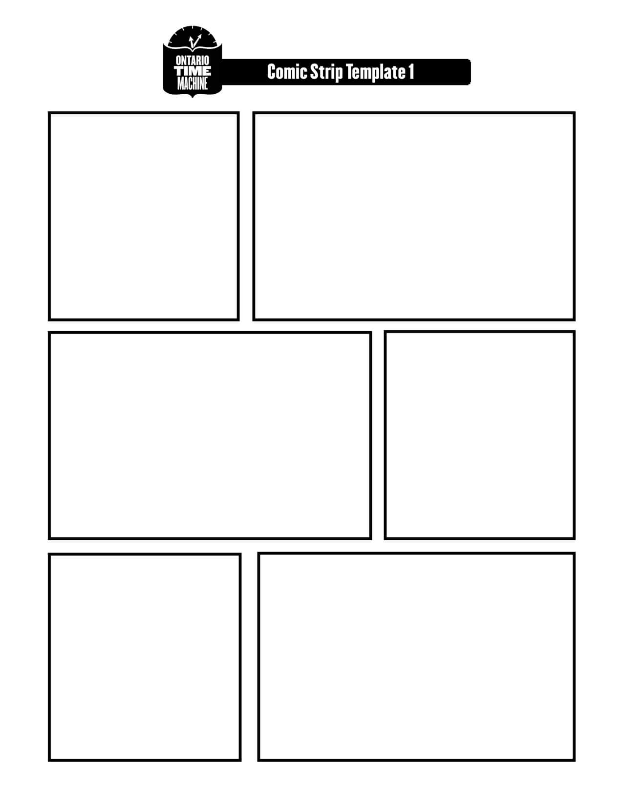 Cartooning Blanks Here Are A Few Ideas For You On Working On Throughout Printable Blank Comic Strip Template For Kids
