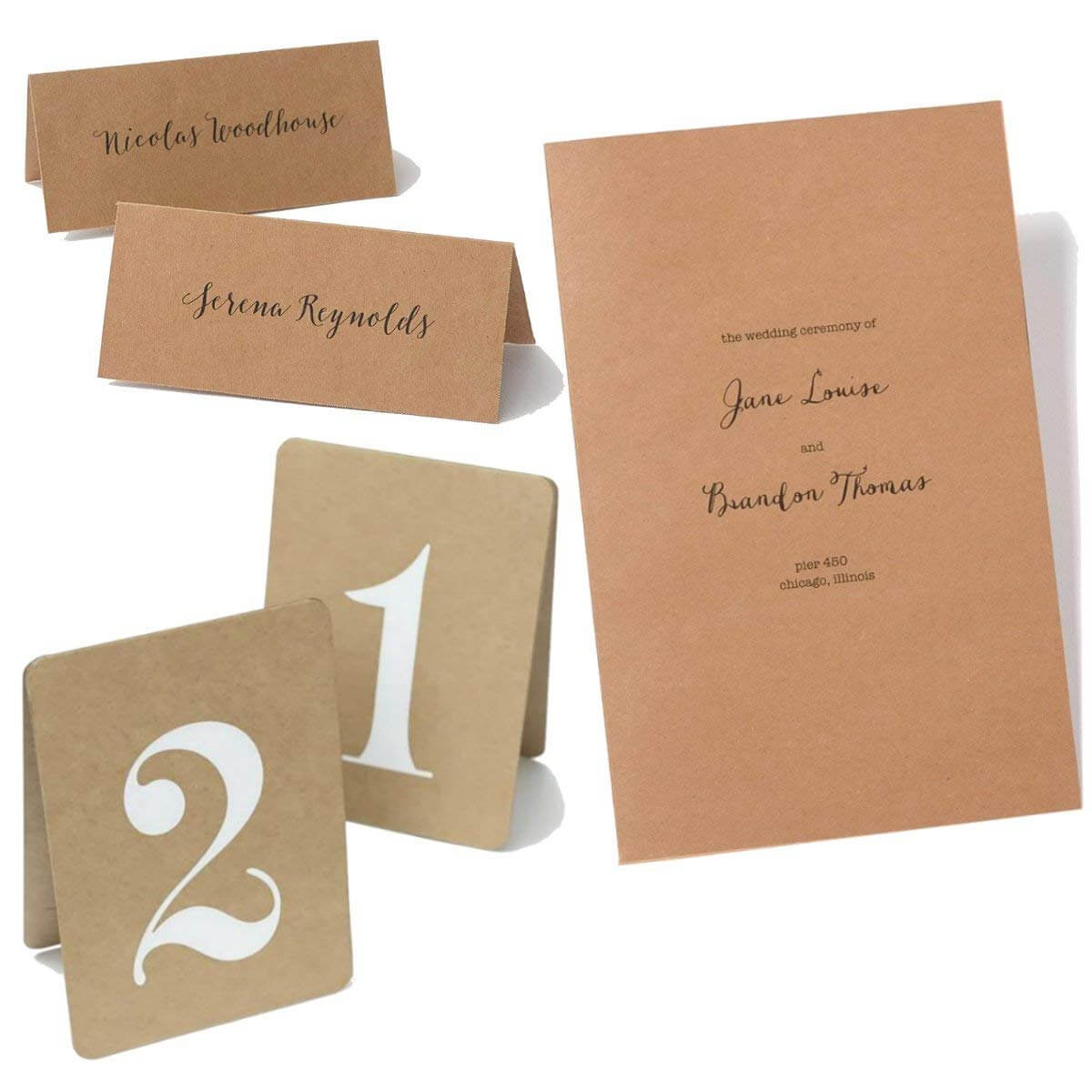 Cheap Table Cards Printable, Find Table Cards Printable Throughout Gartner Studios Place Cards Template