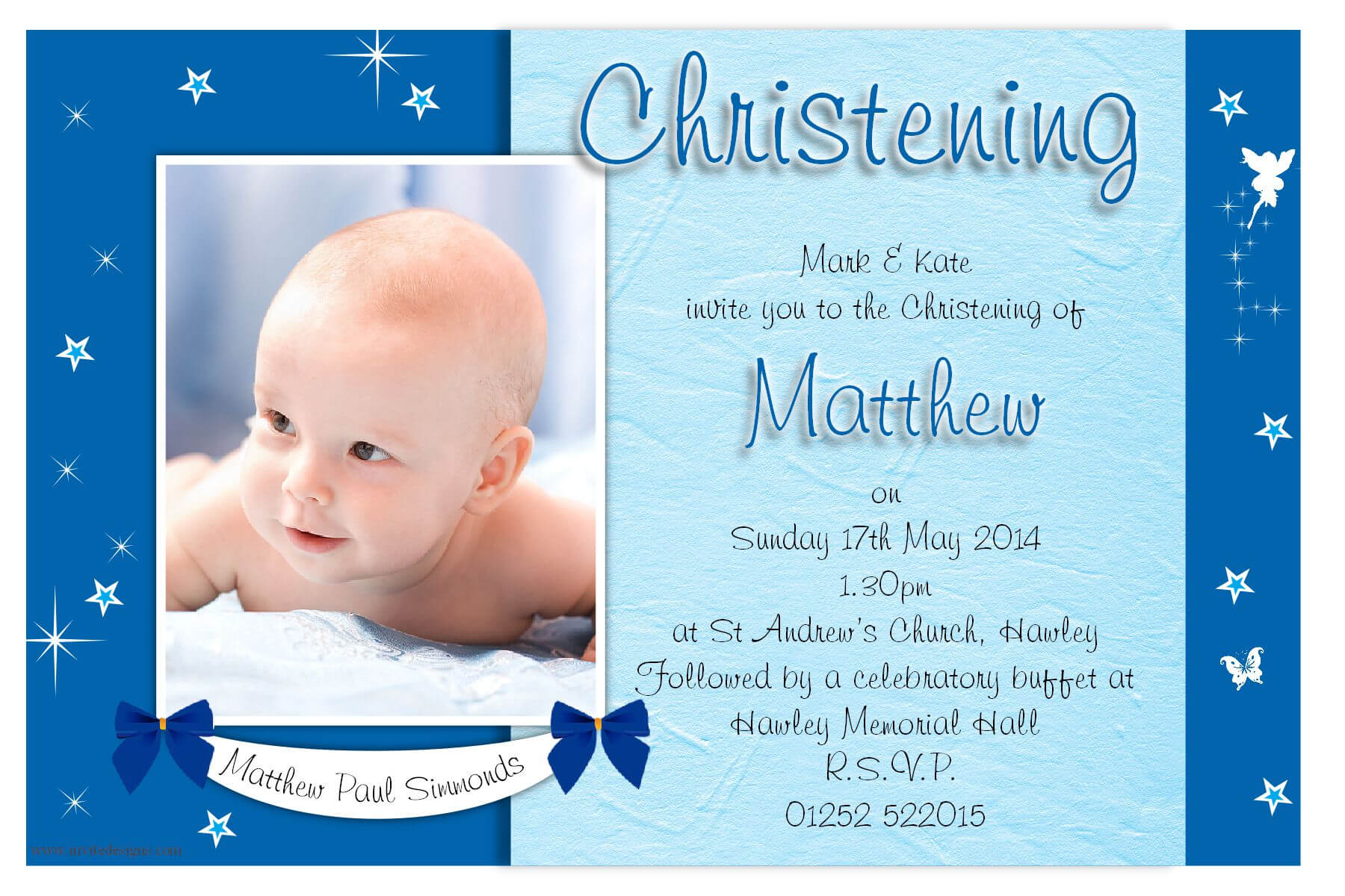 Christening Invitation Cards : Christening Invitation Cards Intended For Baptism Invitation Card Template