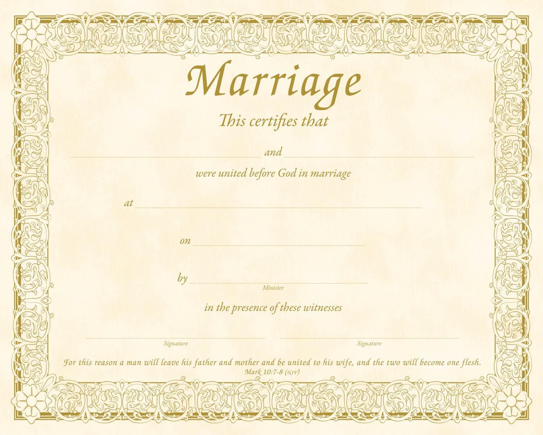 Christian Certificate Template ] - Christian Marriage Pertaining To Christian Certificate Template