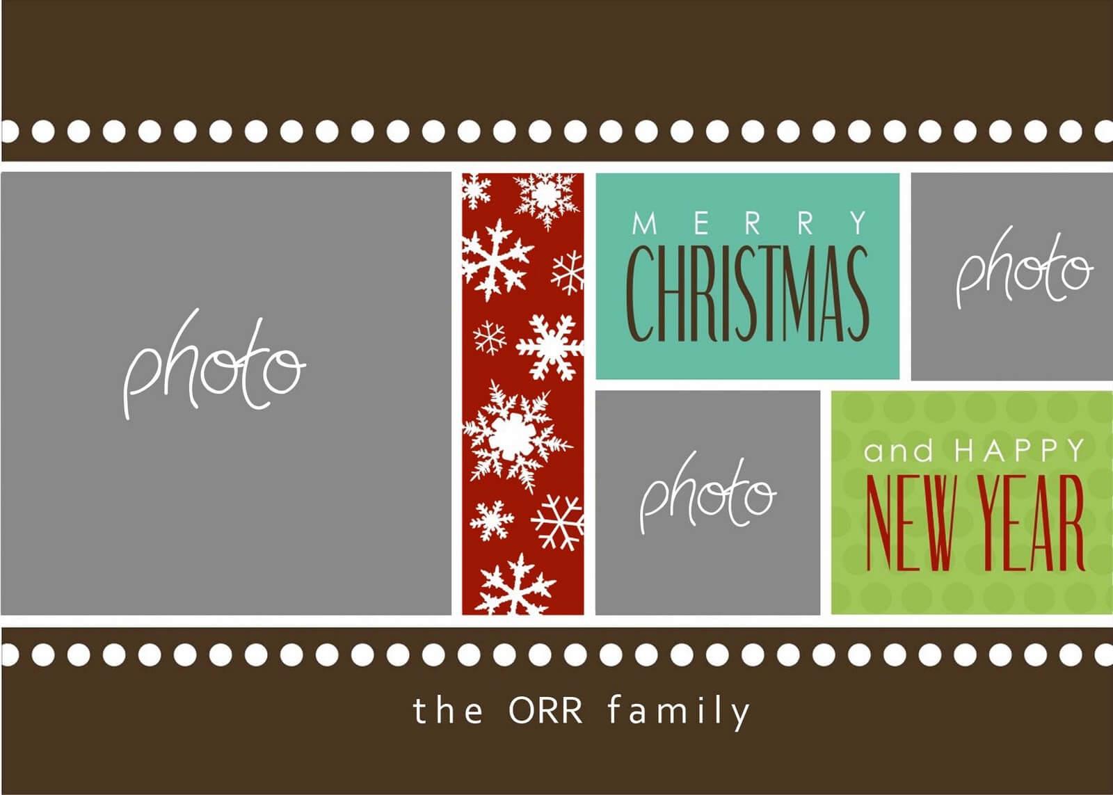 Christmas Cards Templates Photoshop ] - Christmas Card Regarding Free Christmas Card Templates For Photoshop