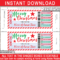 Christmas Concert Ticket Gift Voucher With Movie Gift Certificate Template