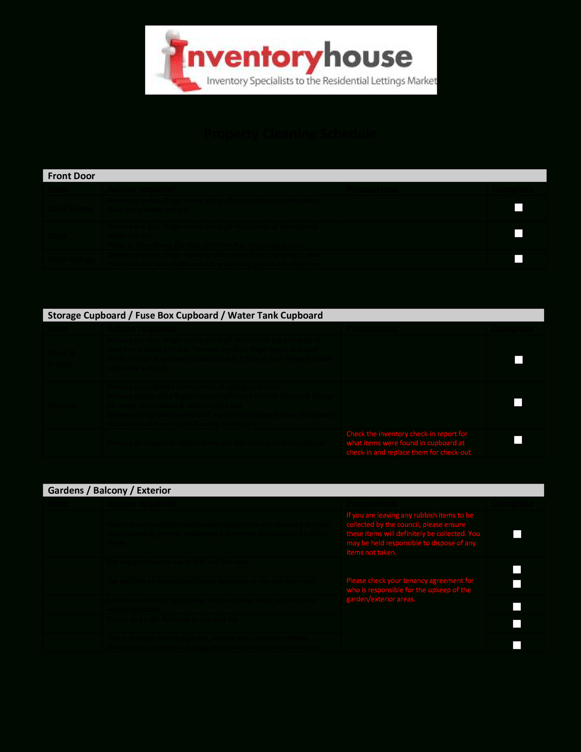 Cleaning Report   Templates At Allbusinesstemplates Throughout Cleaning Report Template