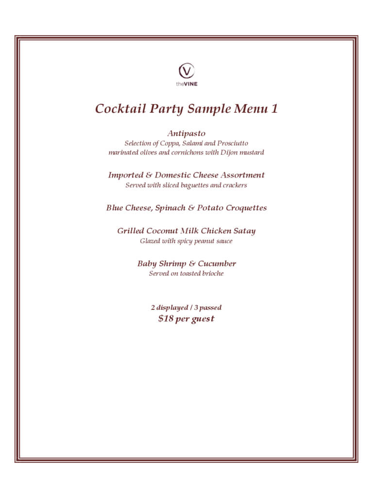 Cocktail Menu Template - 2 Free Templates In Pdf, Word Throughout Cocktail Menu Template Word Free