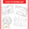 Coloring Pages : Coloring Pages Freehristmasard Sheets Throughout Printable Holiday Card Templates