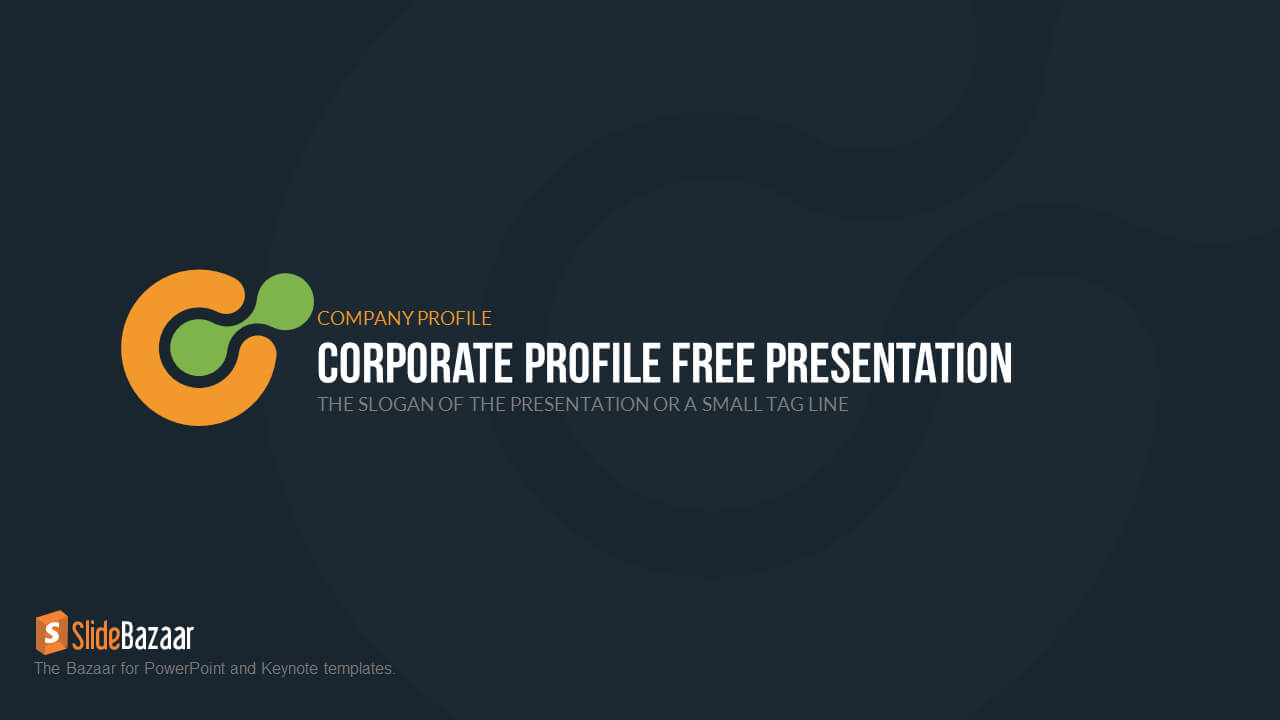 Company Profile Powerpoint Template Free - Slidebazaar Pertaining To Powerpoint 2007 Template Free Download