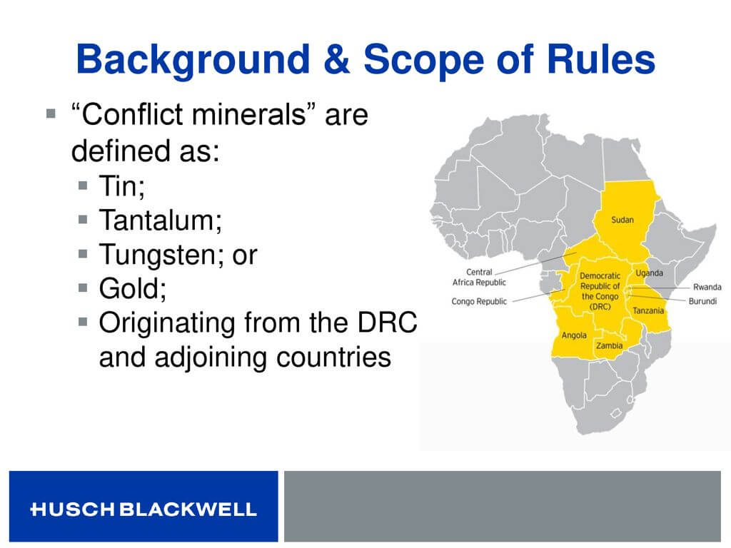 Conflict Minerals: Not Just For Public Companies – What Intended For Eicc Conflict Minerals Reporting Template