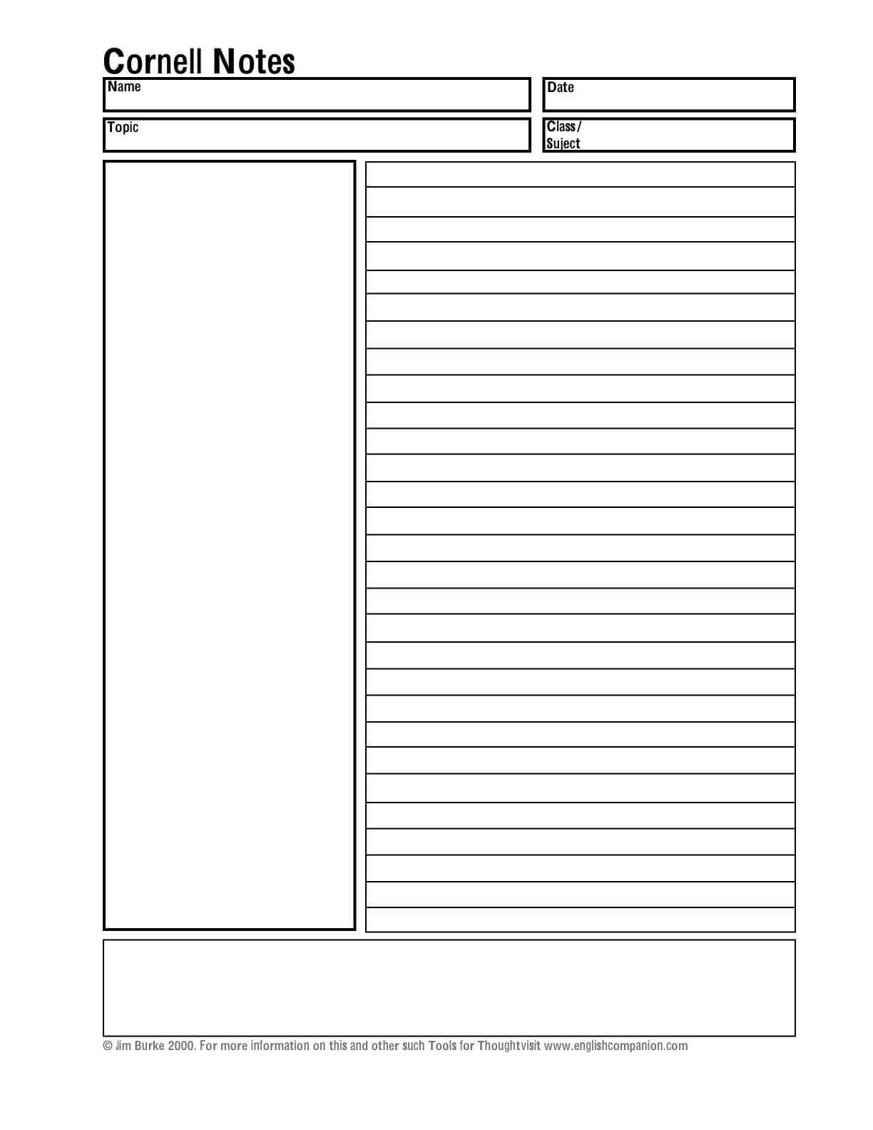 Cornell Notes Template Word Abq2Iv2D – وادي المشمش Within Cornell Note Template Word