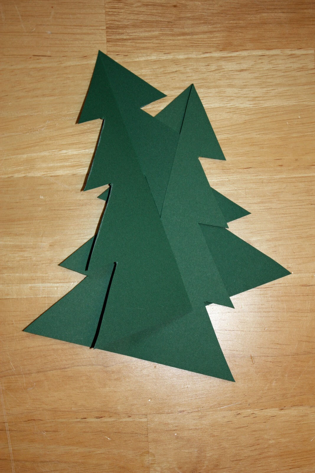 Craft And Activities For All Ages!: Make A 3D Card Christmas With 3D Christmas Tree Card Template