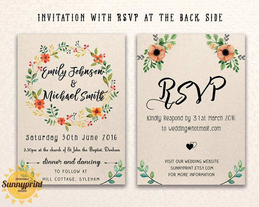 Create Email Invitations Free - Bolan.horizonconsulting.co With Free E Wedding Invitation Card Templates
