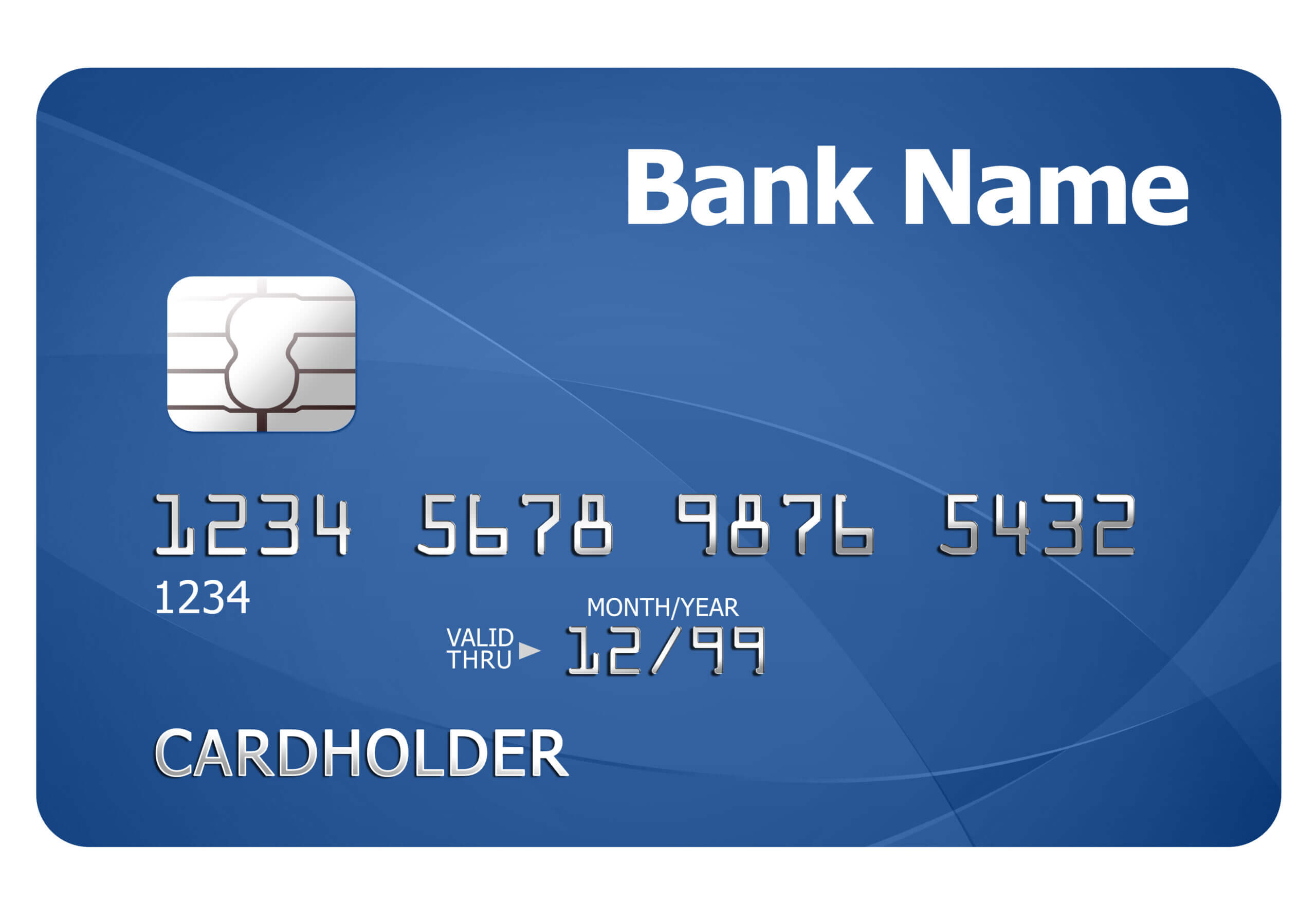 Credit Card Template | Psdgraphics For Credit Card Template For Kids