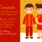 Cultural Chinese Wedding Card Template In Boyfriend Report Card Template