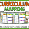 Curriculum Mapping – Grab A Free, Editable Template Now! Pertaining To Blank Curriculum Map Template