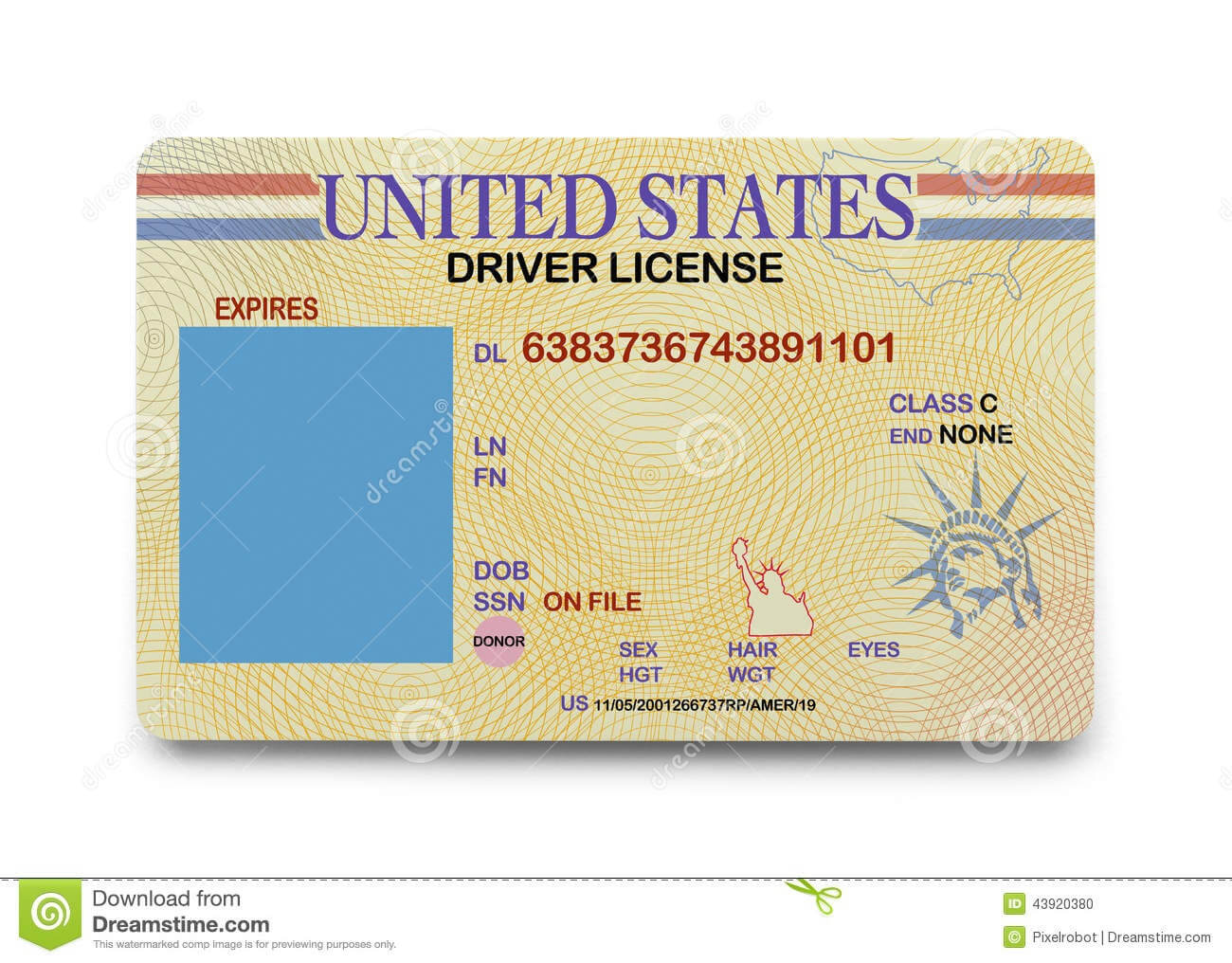 D9Bf2 California Drivers License Template   California Inside Blank Drivers License Template