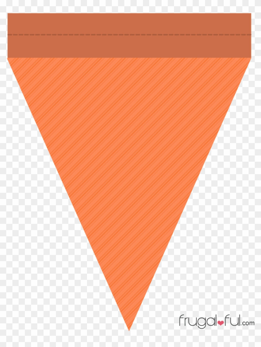 Diy} Free Printable Halloween Triangle Banner Template Pertaining To Triangle Pennant Banner Template