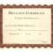 Donation Certificate Template | Certificate Templates Regarding Donation Certificate Template