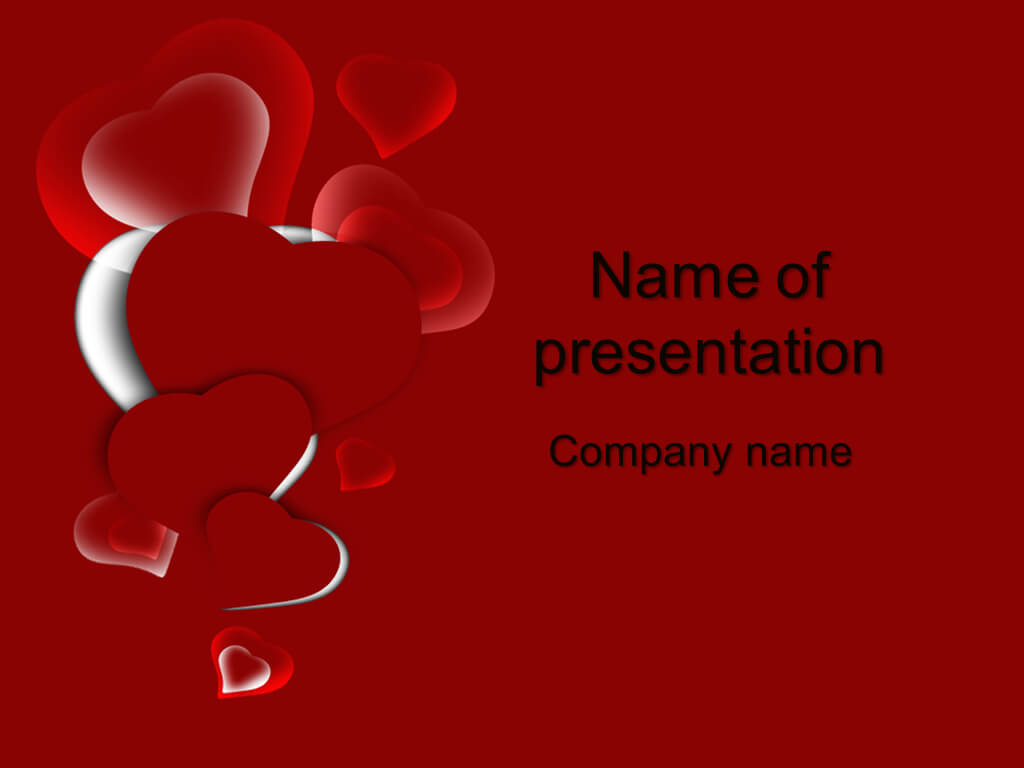 Download Free Free Valentine's Day Powerpoint Templates For Regarding Valentine Powerpoint Templates Free