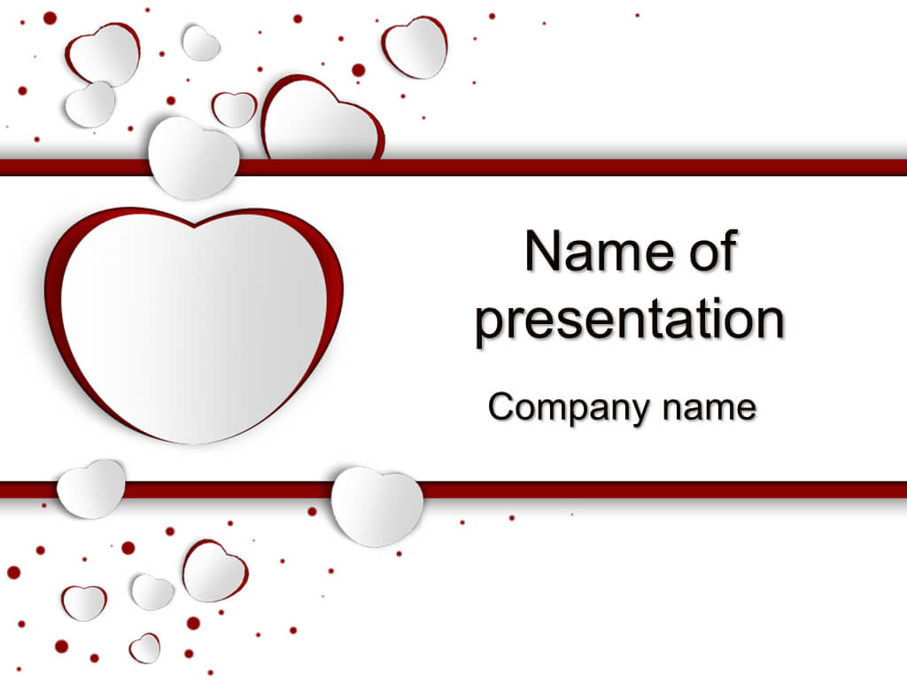 Download Free Free Valentine's Day Powerpoint Templates For Throughout Valentine Powerpoint Templates Free