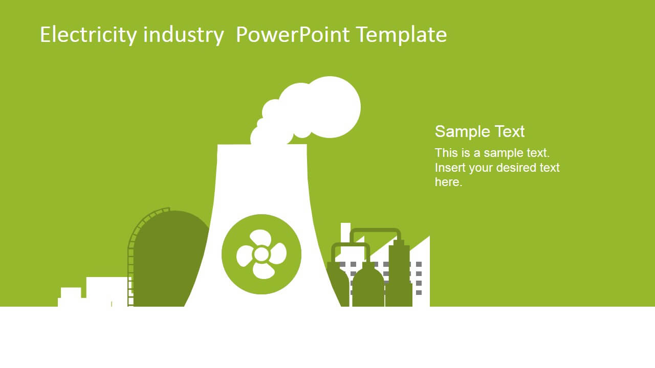 Electricity Industry Powerpoint Template - Slidemodel Throughout Nuclear Powerpoint Template