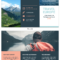 Europe Tourism Travel Tri Fold Brochure Template Within Travel Brochure Template For Students