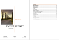 Event Report Template - Microsoft Word Templates with Microsoft Word Templates Reports