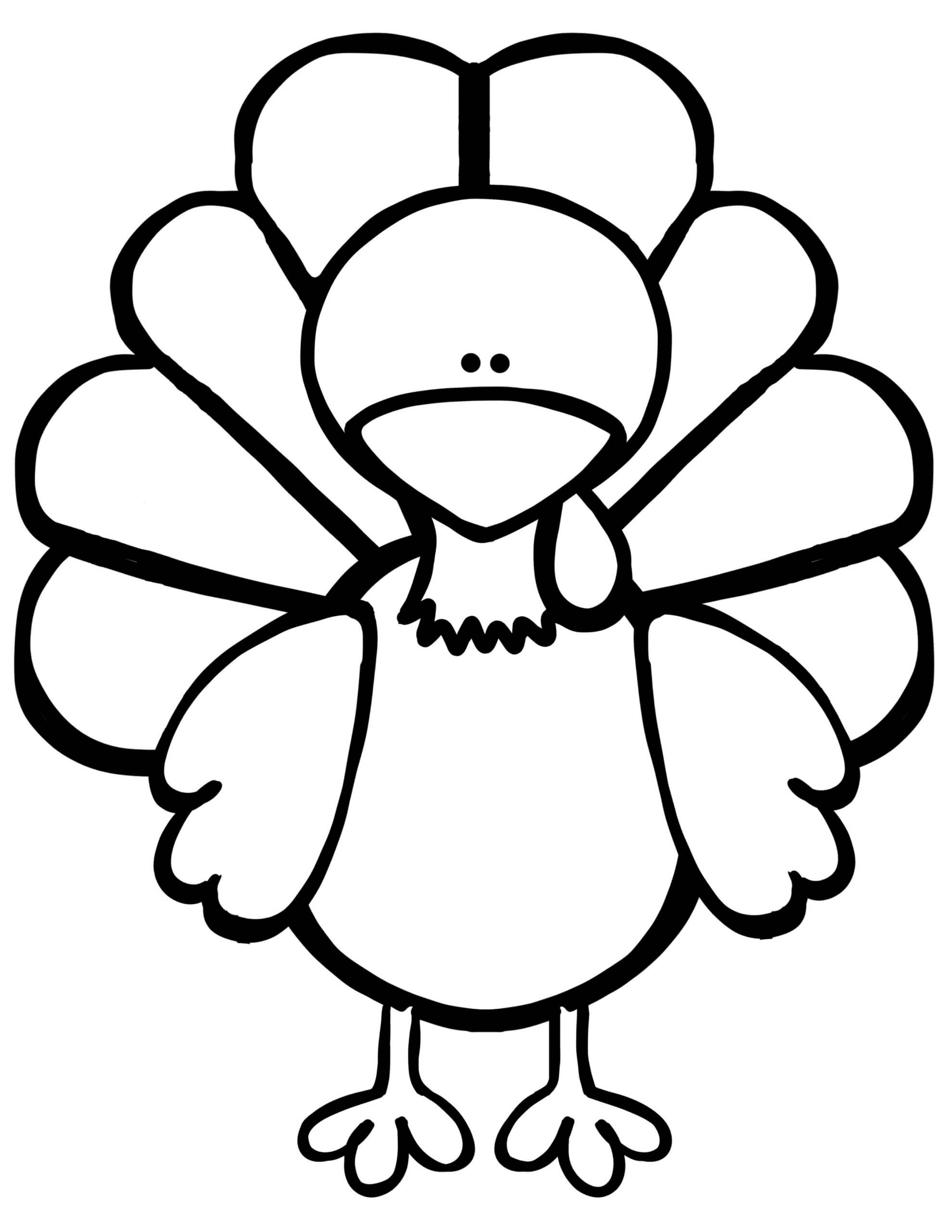 Everything You Need For The Turkey Disguise Project - Kids Pertaining To Blank Turkey Template