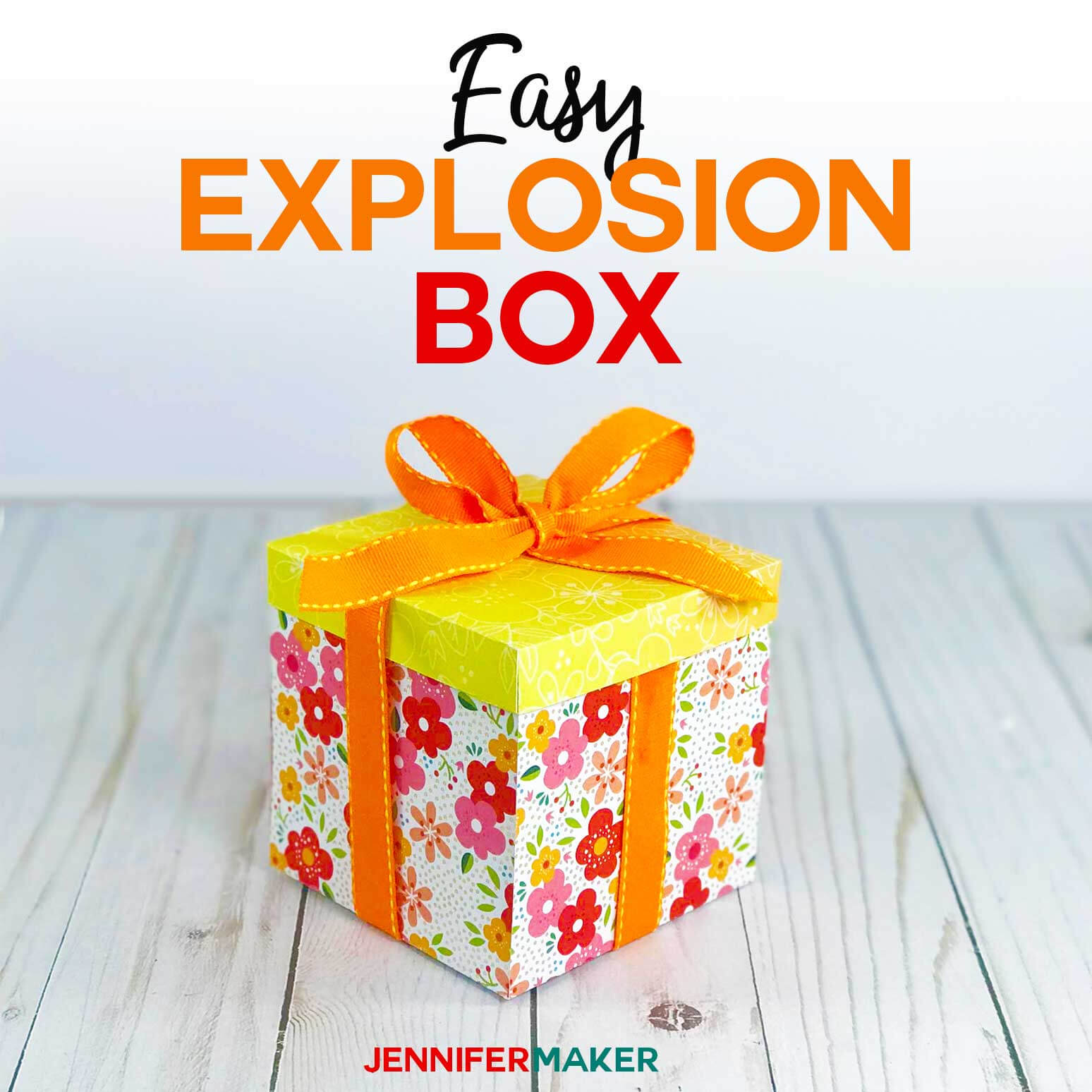 Explosion Box Card Tutorial: Endless Box - Free Svg File For Free Svg Card Templates