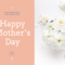 Floral Happy Mother's Day Card Template Within Mothers Day Card Templates