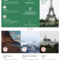 France Tri Fold Travel Brochure Within Travel And Tourism Brochure Templates Free