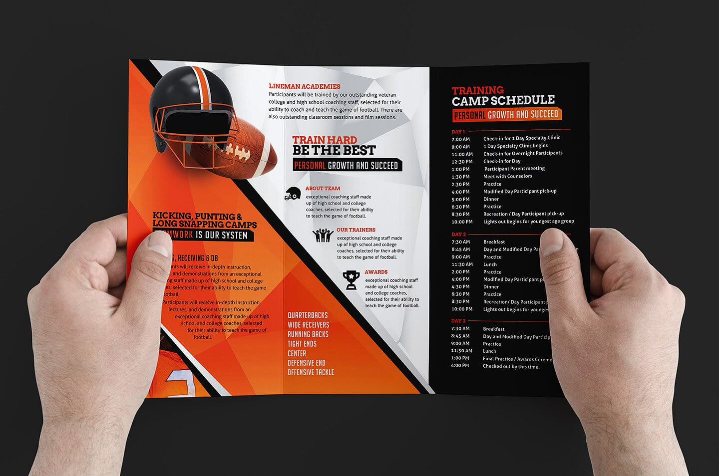 Free 12+ Training Brochure Designs In Word | Psd | Ai | Eps Intended For Training Brochure Template