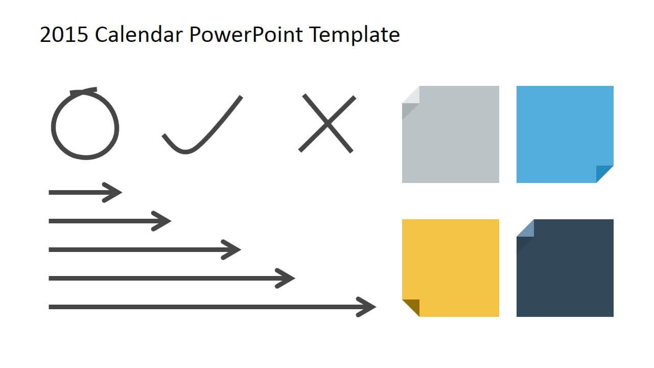 Free 2015 Calendar Template For Powerpoint Throughout Powerpoint Calendar Template 2015