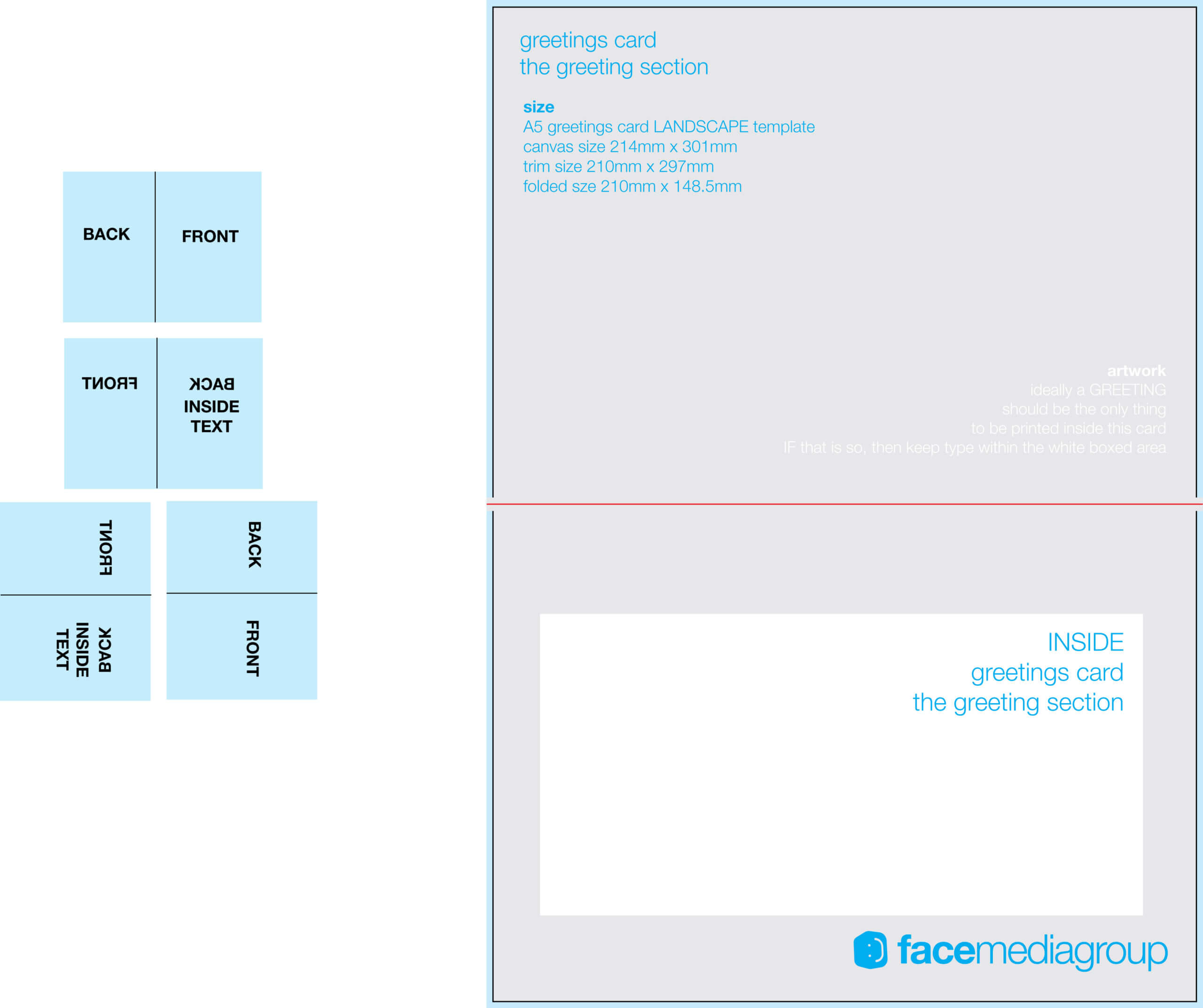 Free Blank Greetings Card Artwork Templates For Download Pertaining To Greeting Card Layout Templates